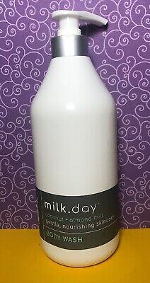 Milk Day ❤️ Coconut + Almond Milk Body Wash 32 Fl Oz New Free Ship
