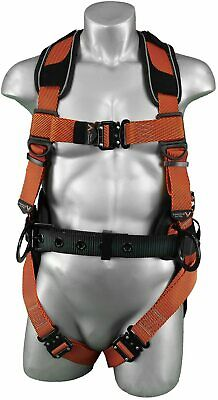 Warthog Comfort Maxx Safety Harness With Removable Belt Side D-rings 3x-large