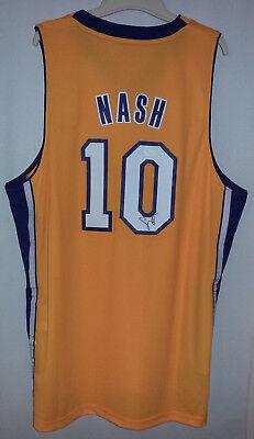 JSA COA Steve Nash Signed Auto Autograph NWT Adidas Swingman L.A. Lakers  Jersey bb914ca69
