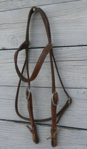Leather Browband Headstall 23726