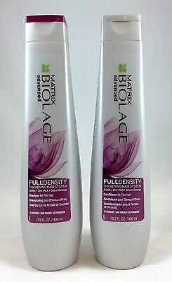Matrix Biolage FullDensity Thickening Shampoo and Conditioner 13.5oz duo set