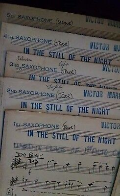 COLE PORTER'S IN THE STILL OF THE NIGHT VINTAGE FULL BAND ARRANGEMENT 1950s