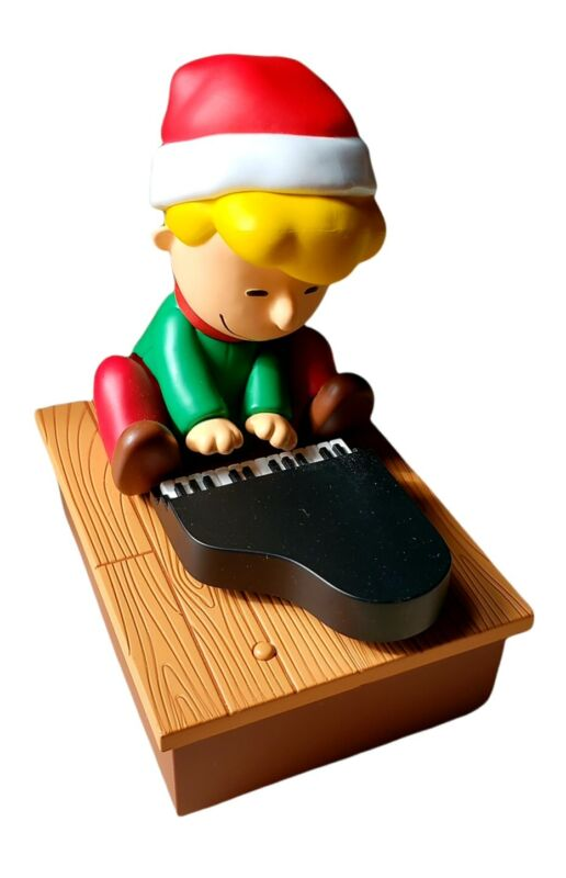 2011 Hallmark Peanuts Schroed Dancing and Musical Instrument Christmas Figurine