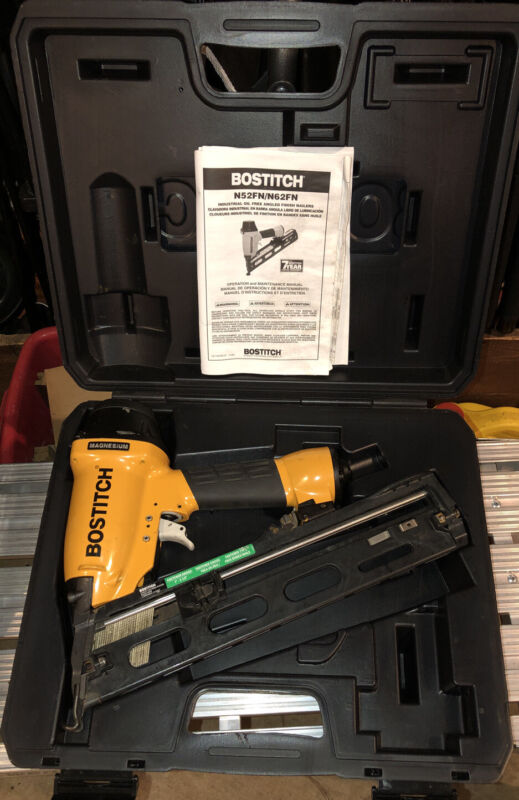 BOSTITCH N62FN ANGLED FINISH NAILER Works Great!!