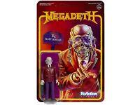 2019 Exclusive Super 7 Vic Rattlehead figure MOC Megadeth Metal Series Super 7
