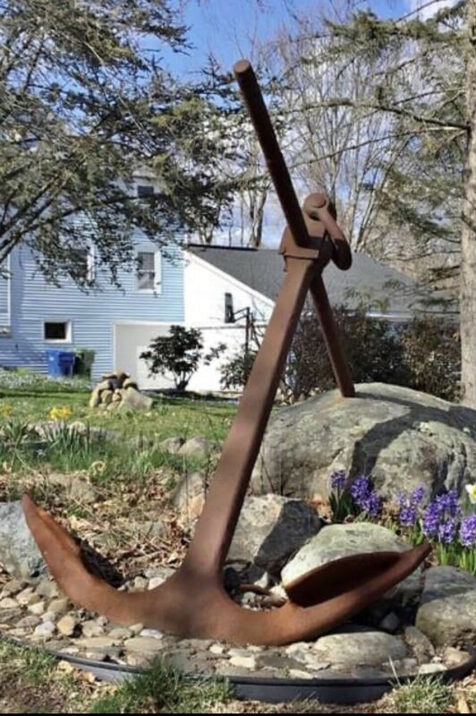 Original Baldt Anchor Company 100 Years Old! 7' Tall Marked Delivery Possible!!