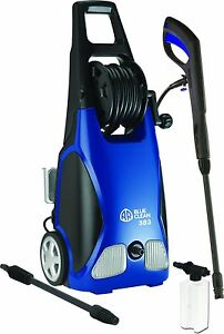 AR Blue Clean AR383 1,900 PSI 1.5GPM 14 Amp Electric Pressure Washer w/Hose Reel