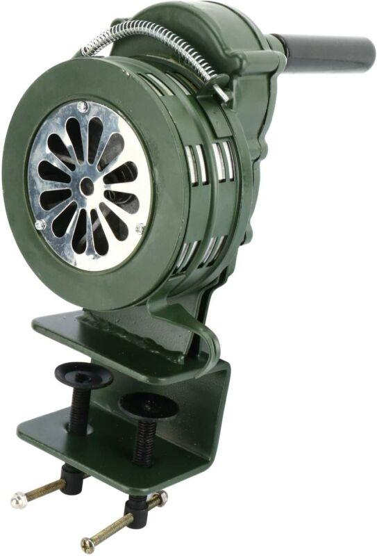 Air Raid Siren 110DB Clamp Mount Hand Loud Crank Operated Home Security Alarm