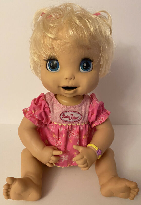 Baby Alive 2006 Soft Face Tested/Works In Excellent Condition!