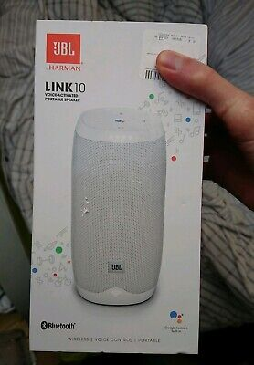 JBL Link10 Portable Voice Activated Speaker. New and sealed.