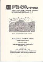 Xiii Tredicesimo Convegno Filatelico Irpino 2003 -  - ebay.it