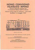 Ix Nono Convegno Filatelico Irpino 1999 -  - ebay.it