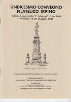 Xi Undicesimo Convegno Filatelico Irpino 2001 -  - ebay.it