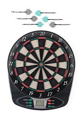 Elektronische Dartscheibe Classic 1-8 Spieler 6 Softdarts Pfeile Score Display