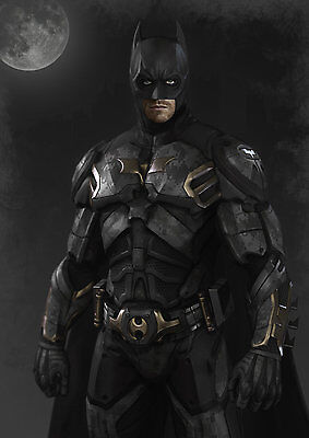 Batman costume cosplay DIY* 3-D paper model kit](Diy Batman Costume Kids)