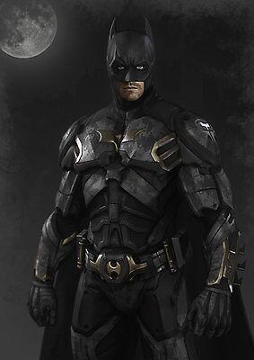 Batman costume cosplay DIY* 3-D paper model kit