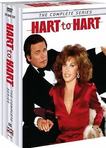 HART to HART the Complete DVD Series Seasons 1-5 - Season 1 2 3 4 5 -29 Disc Set