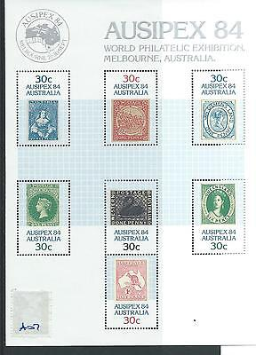 wbc. - AUSTRALIA - A07 - MINIATURE SHEET - AUSIPEX 84 - MELBOURNE -  mint