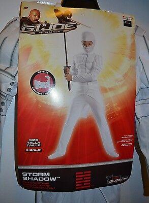 Sturm Costum (G.I.Joe Sturm Schatten Jungen' Costume-Small (4-6) -brand Neu Halloween)