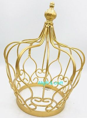 """QUINCEANERA WEDDING TABLE DECORATIONS CENTERPIECES,CAKETOPPER ,GOLD CROWN 10""""](Quinceanera Table Decorations Centerpieces)"""