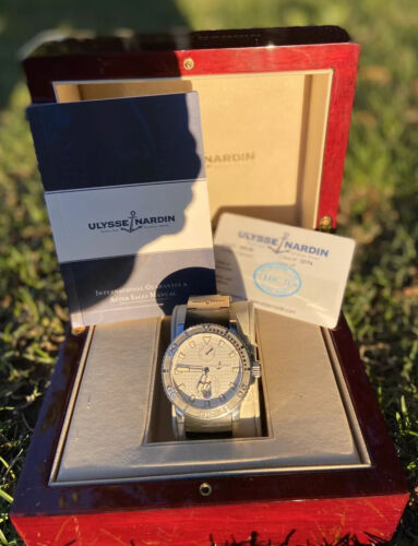 Ulysse Nardin Maxi Marine Diver 263-33-3 Box Papers ! Authentic Automatic Watch - watch picture 1