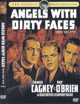 Angels with Dirty Faces (1938) James Cagney /Pat O'Brien DVD NEW *FAST SHIPPING