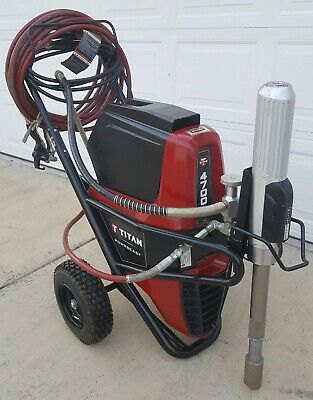 Titan Speeflo Powrbeast 4700thydraulic Electric Airless Texture Paint Sprayer