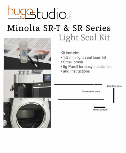 Minolta SR & SRT Light Seal Kit Replacement - Laser Cut