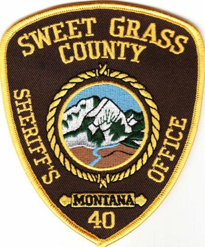 Sweet Grass County Sheriffs Office MT Montana patch
