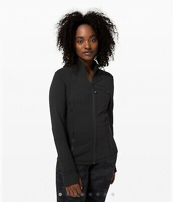 Lululemon Define Jacket LUON SZ 4 BLACK *Brand New W Tags*