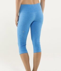 """BEAUTIFUL BRAND NEW LULULEMON """"IN THE FLOW"""" SEAMLESS CROPS"""