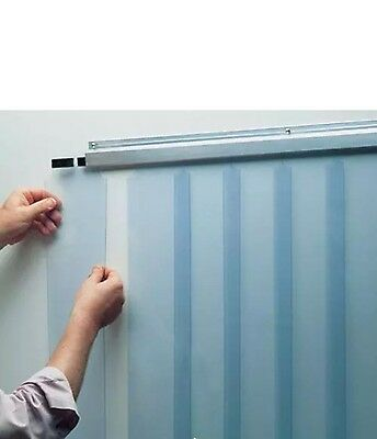 Kason Walk In Strip Curtain 42 X 84 Walk In Cooler Refrigerator Freezer