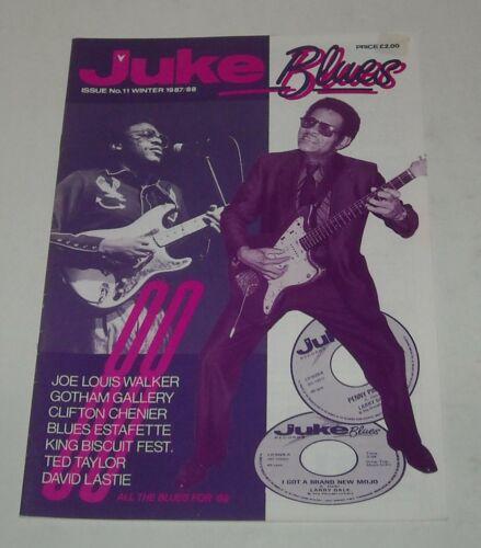 1988 JUKE BLUES UK MAGAZINE # 11 JOE LOUIS WALKER CLIFTON CHENIER LARRY DALE