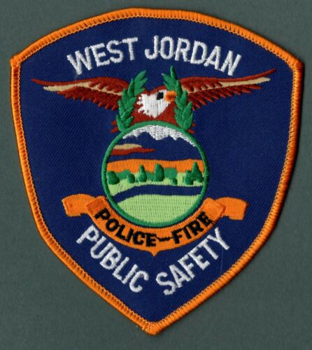 West Jordan Utah Public Safety Patch