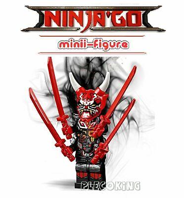 NINJAGO - ULTIMATE MR E & ONI MASK OF VENGENCE - custom figure - fit lego (P7)