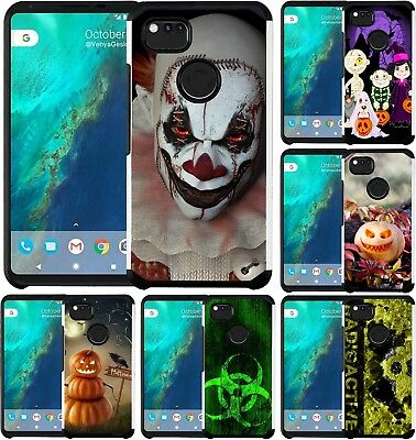 For Google Pixel / Pixel 2 / Pixel 2 XL Hybrid Case Phone Cover Halloween 2018
