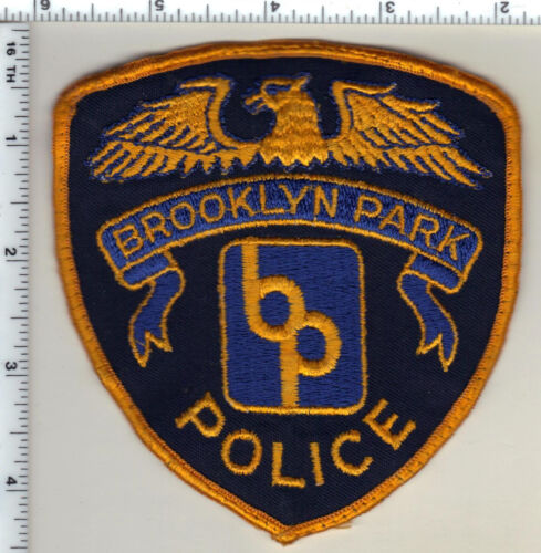 Brooklyn Park Police (Minnesota) Shoulder Patch new from 1990