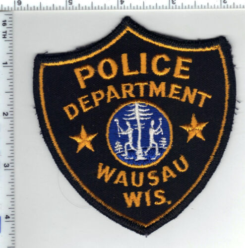 Wausau Police (Wisconsin) 1st Issue Uniform Take-Off Shoulder Patch