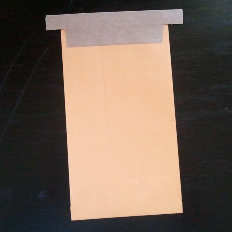 """3 x 5"""" Kraft Tin-Tie Envelopes Reclosable dry sample pouches"""