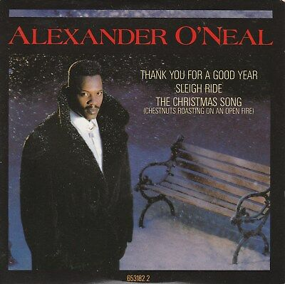 "Alexander O""Neal - Thank You For A Good Year - 3 track 12"" single / perfect cond"