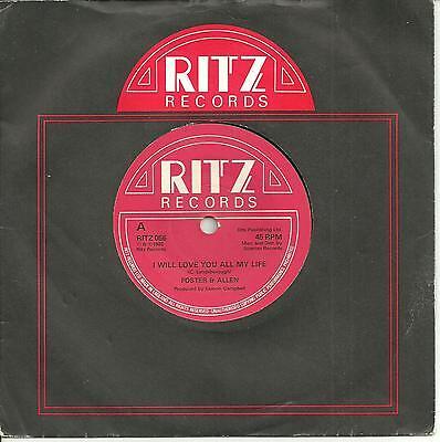 FOSTER & ALLEN - I WILL LOVE YOU ALL MY LIFE - RITZ 1983 - IRISH VOCAL BALLAD