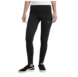 49e5232d44f1 PUMA Ladies  Moto Tight Athletic Leggings Black Size XL for sale ...