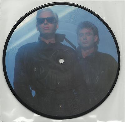 "SHARPE + GARY NUMAN new thing 1986 7"" LTD PICTURE DISC"