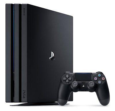 Sony PlayStation 4 Pro 1TB Konsole schwarz (PS4)