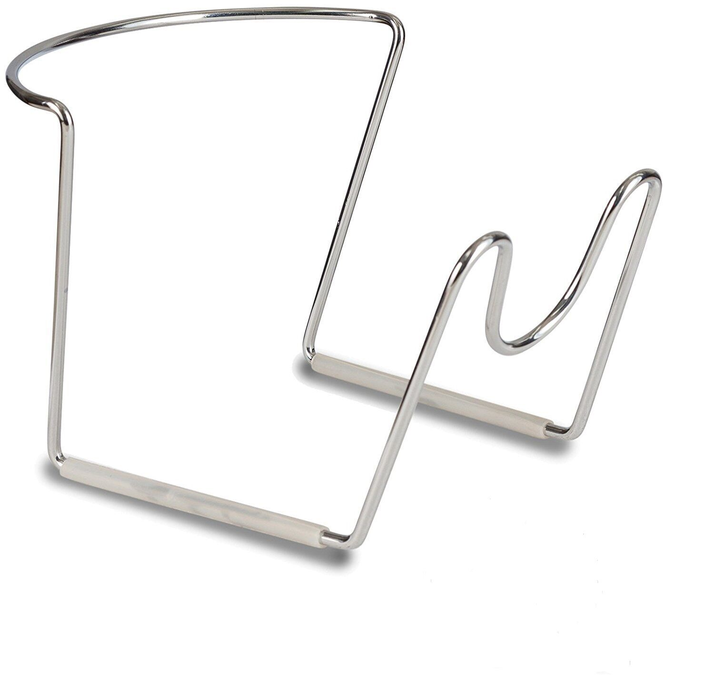 Chrome Metal 1- 5 Gallon Water Jug Stand