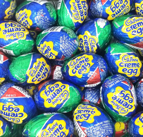 Cadbury Creme Egg, Easter Candy Eggs Chocolate, 48 Count ,1.2 oz DEC 2020