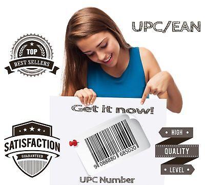 500 Upc Numbers Upc Barcodes Ean Bar Code Upc Number Labels Us Uk Eu Amazon