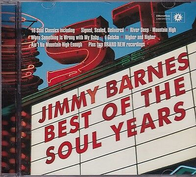 JIMMY BARNES - BEST OF THE SOUL YEARS - CD (Jimmy Barnes Best Of The Soul Years)