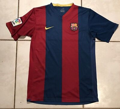 00c3bc65320 Vintage NIKE FC Barcelona 2006/2007 Jersey Youth XL