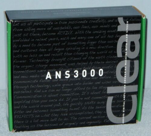 ClearSounds CLS ANS3000 Digital Amplified Answering Machine